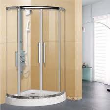 quarter circle shower tray tempered glass bath shower cabin buy