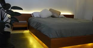platform bed with led lights led lighting projects inspire your creativity