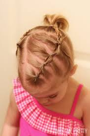 simple hairstyles with one elastic styles for the wispy haired toddler twist me pretty
