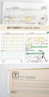 monthly day planner template 60 best printable planner pages images on pinterest planner make your own awesome planner yeah diyplanner