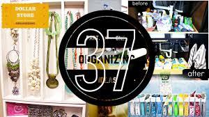 37 organizing ideas 1 with dollar store organization tips youtube