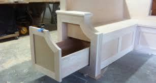 kitchen bench seating storage plans seat