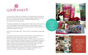 store design for good earth on student show