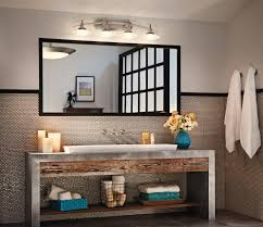 Kichler Lighting Lights Bathroom Kichler Lighting Battery Light Lights Contemporary