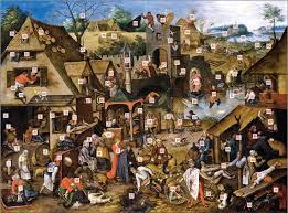 Pieter Bruegel Blind Leading The Blind The