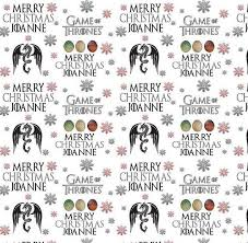 of thrones wrapping paper personalised christmas wrapping paper of thrones style b ebay