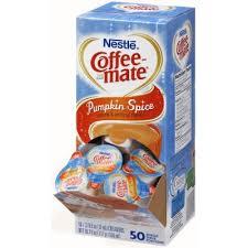 pumpkin spice for coffee coffee mate pumpkin spice liquid creamers