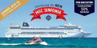 msc sinfonia cruise bookings 2018