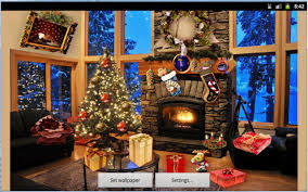 Fake Christmas Fireplace Christmas Fireplace Lwp Android Apps On Google Play