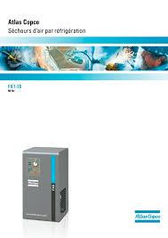 sécheurs d u0027air par réfrigération fx atlas copco compresseurs
