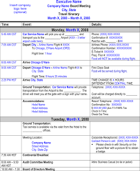 flight itinerary templates samples for word u0026 excel