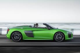 audi supercar convertible audi r8 spyder v10 plus scoopcar com automobile news review and