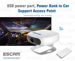 How To Make A Video Resume Escam Shell Qn01 Fhd 1080p Wifi Ambarella Chipet Ip Camera