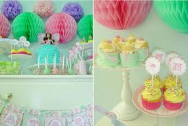 colourfull girly birthday party princess decoration