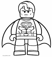 Free Printable Superman Coloring Pages For Kids Cool2bkids Lego Coloring Pages For Boys Free
