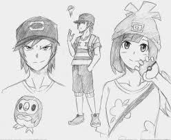 pokemon sun and moon sketch by jourd4n on deviantart
