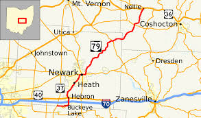 Map Of Ohio State a mound walk ahcuah thomas evans trail newark ohio to johnstown