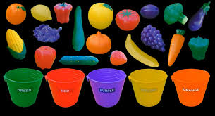 fruit and vegetable colors color sorting the kids u0027 picture