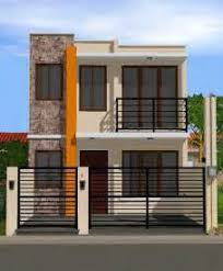modern two story house plans small two story house plans in philippines two storey house