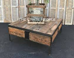 vintage square coffee table square coffee table etsy