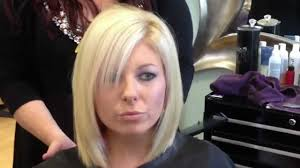 hairstyle for bob cut hair blonde layered bob haircut youtube