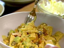 curried chicken salad recipe ina garten food network