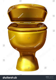 golden toilet stock photos images amp pictures shutterstock gold