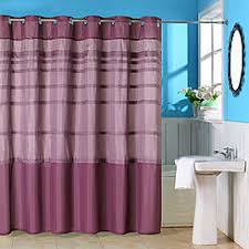 Shower Curtain With Pockets Purple Shower Curtains U0026 Liners Kmart