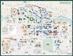 Montana State University Map by Msc Contact Us