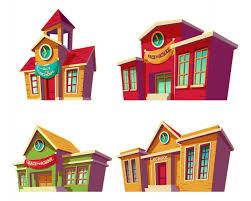 imagenes educativas animadas conjunto de ilustraciones vectoriales dibujos animados de varias