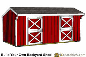 10 Stall Horse Barn Plans 10x20 Shed Plans Building The Best Shed Diy Shed Designs
