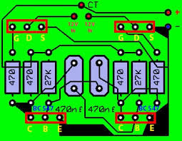 layout pcb inverter haryo toms inverter with irfz44
