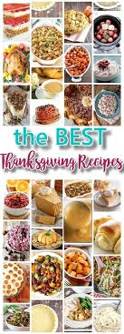 thanksgiving outstanding traditional thanksgiving food list best