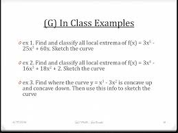 lesson 56b u2013 second derivatives inflection points and concavity 6