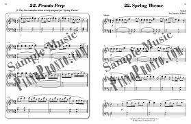 piano pronto movement 5 hardcopy method book piano pronto