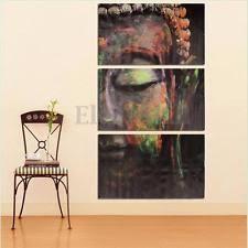 Buddhist Home Decor Buddha Poster Ebay