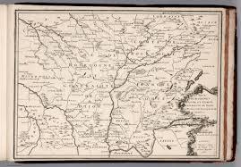 Dijon France Map by Les Deux Bourgogne Duche Et Comte Generalite De Dijon France