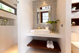 Bathroom Vanity With Shelves Bathroom Vanity Shelves Interior Design Ideas