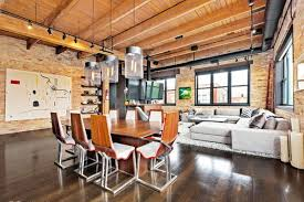Loft In Garage by Three Of The Loftiest Chicago Timber Lofts For Sale Curbed Chicago