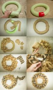 how to make a burlap wreath with a pool noodle umm i think i