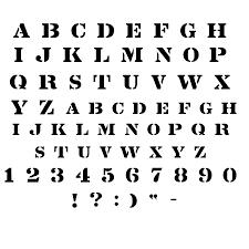 printable letter stencils dr odd