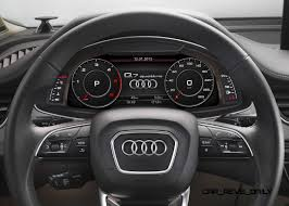 Audi Q7 2015 - 2016 audi q7 cabin tech