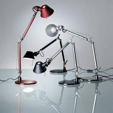 le de bureau artemide tolomeo micro bleu le de bureau artemide luminaire vibert