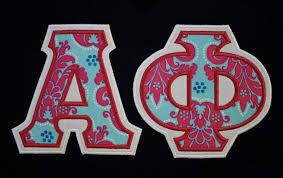 sorority greek letters premade shirt agd love pinterest