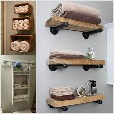 bathroom shelf idea decorative glass shelves bathroom floating closet pertaining to