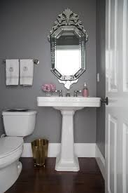 Chevron Bathroom Decor by Powder Room Makeover U2014 Studio Mcgee