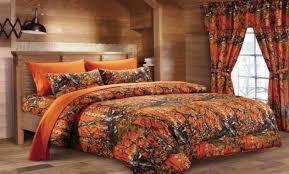 Orange Camo Bed Set Orange Camo Bed Set Home Furnishing Styles