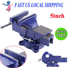 swivel base table top bench vice grip clamp 5