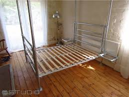 pipe u0026 clamp bed frame 1 u2013 studio b