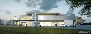 volvo commercial truck dealer volvo trucks breaks ground on new customer experience center kzf